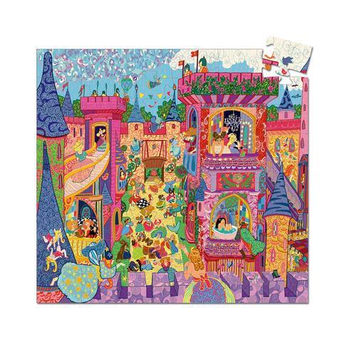Puzzle castillo de hadas 54 piezas Contiene 54 Piezas.