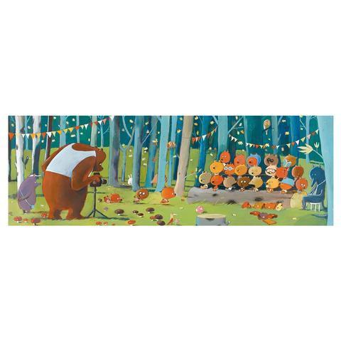 Puzzles amigos del bosque 100 piezas
