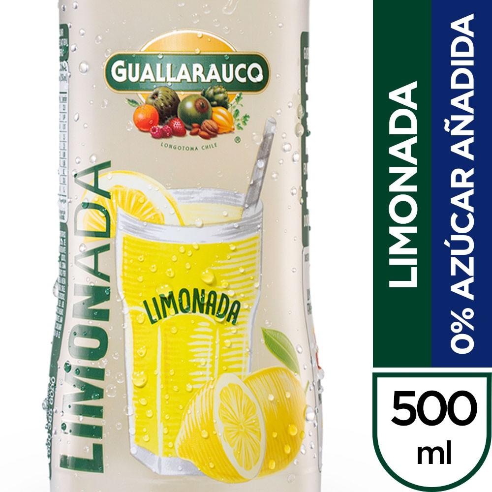 Limonada 0% azúcar añadida
