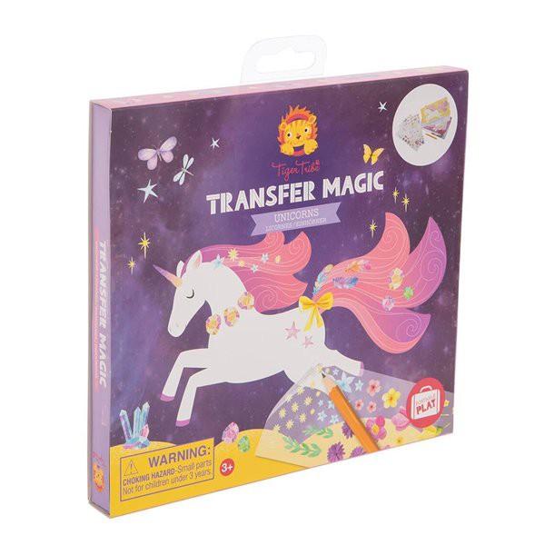 Transferencia mágica - unicornios