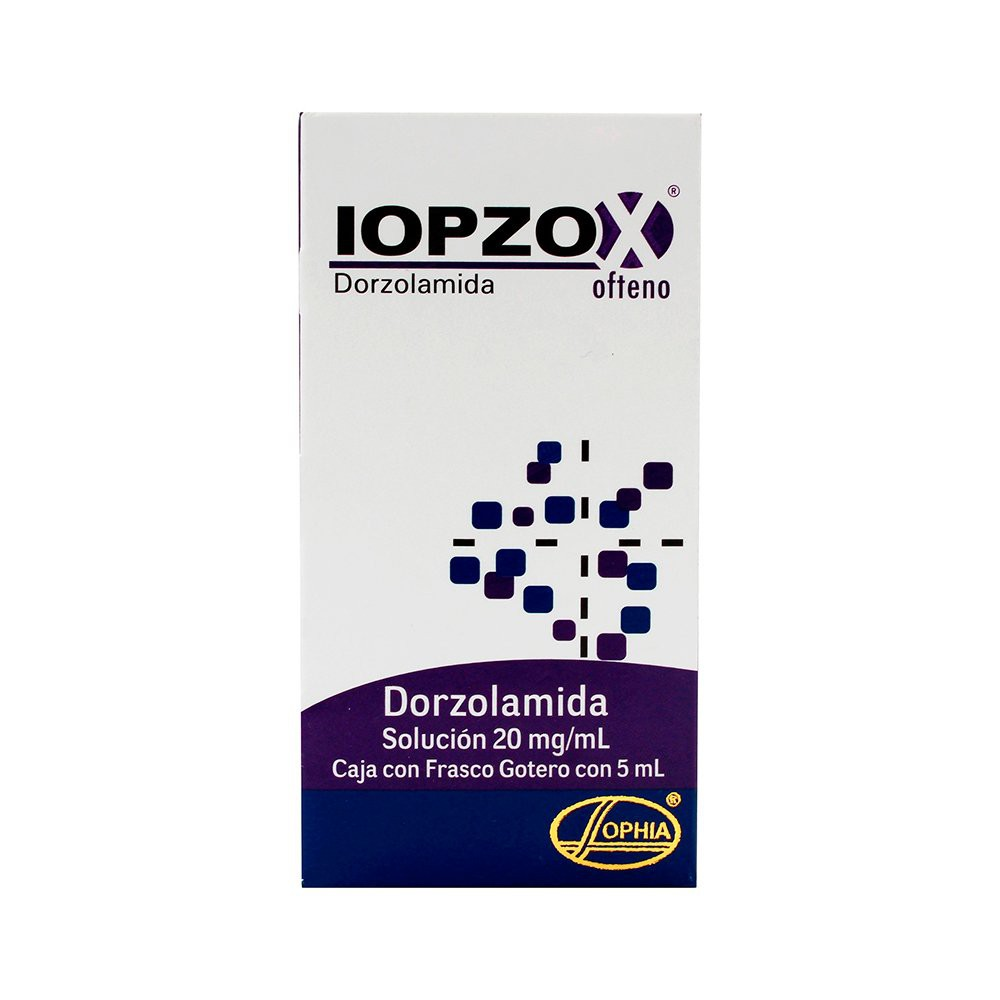 Iopzox Ofteno Solgotero 5 Ml