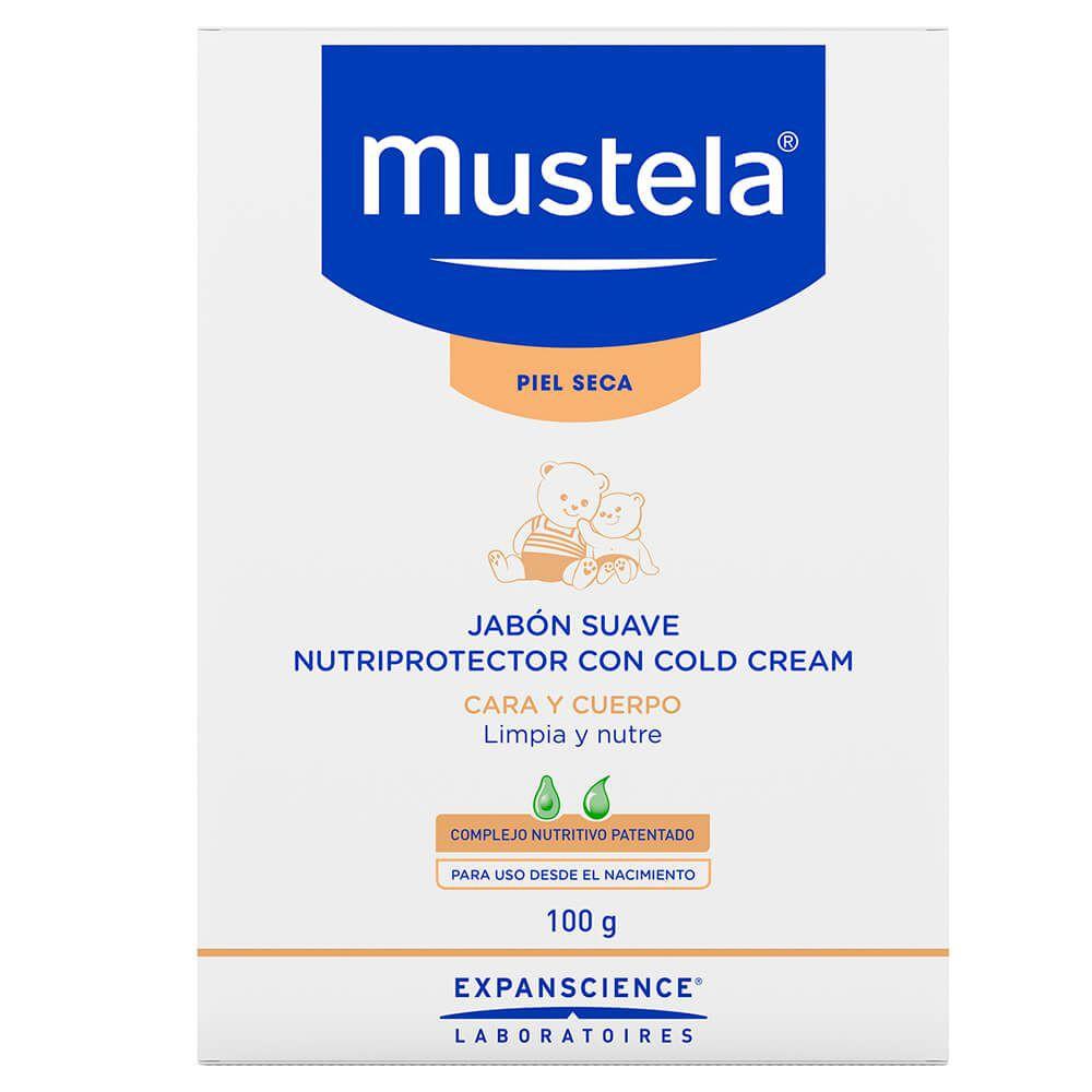 Jabón suave nutriprotector cold cream