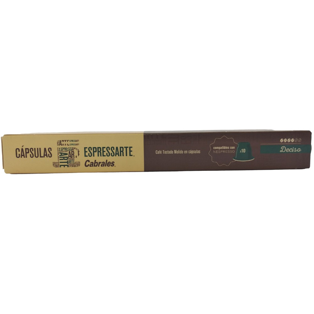 Café en Cápsulas Compatible Nespresso caja de 10 cápsulas
