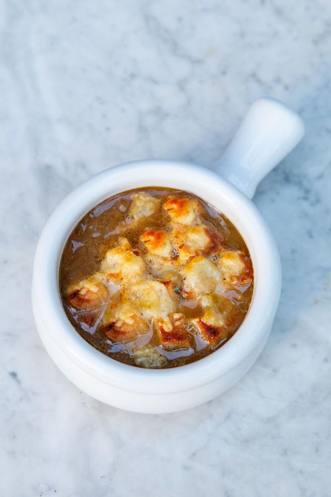 Sopa de cebolla 2 porciones - 600grs