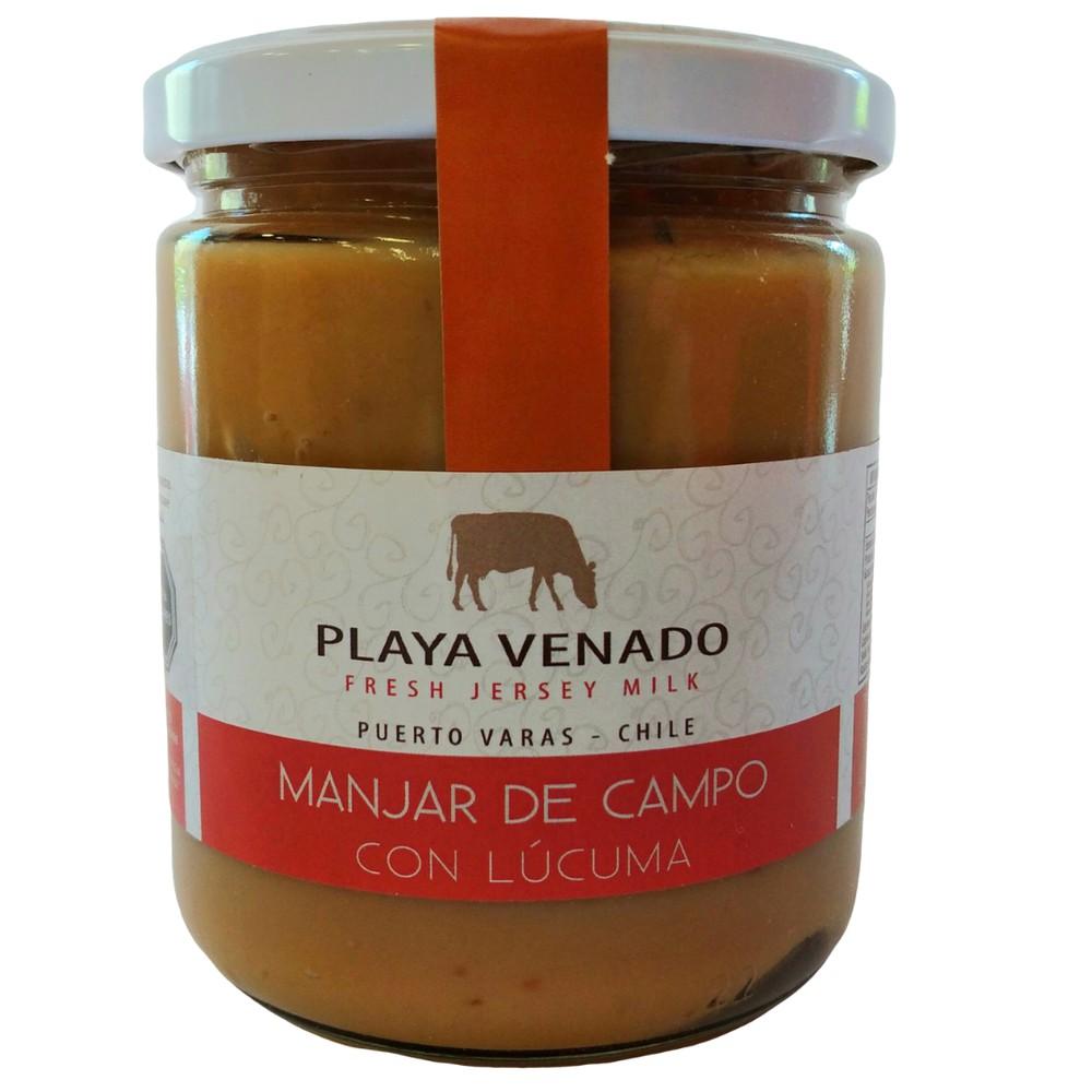 Manjar de Campo con Lúcuma de 550 grs frasco de 500g