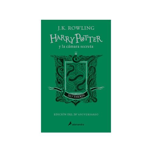 Harry potter y la cámara secreta (slytherin)