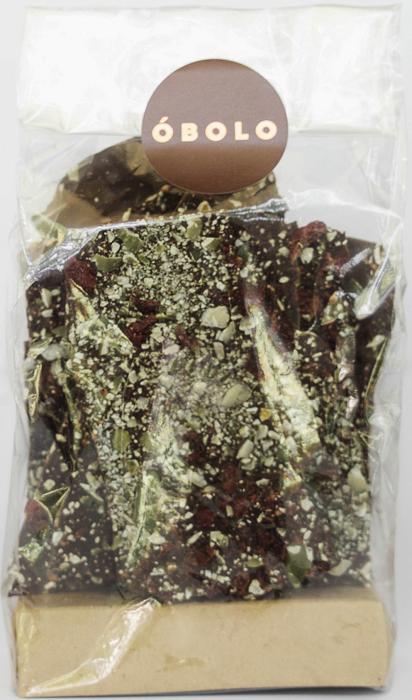 Bark vegano crunch 150g