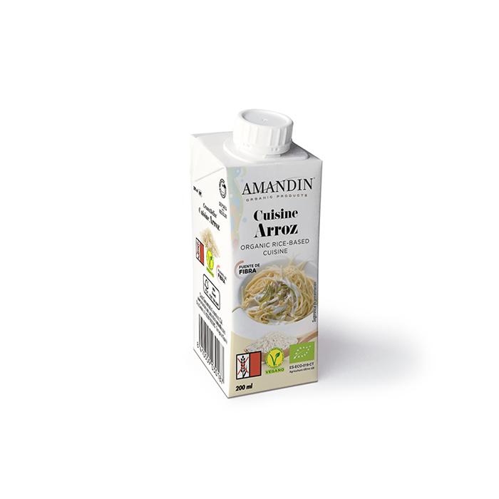 Crema de arroz sin gluten
