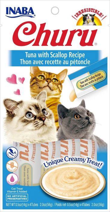Ciao churu tuna con ostiones 4 tubos