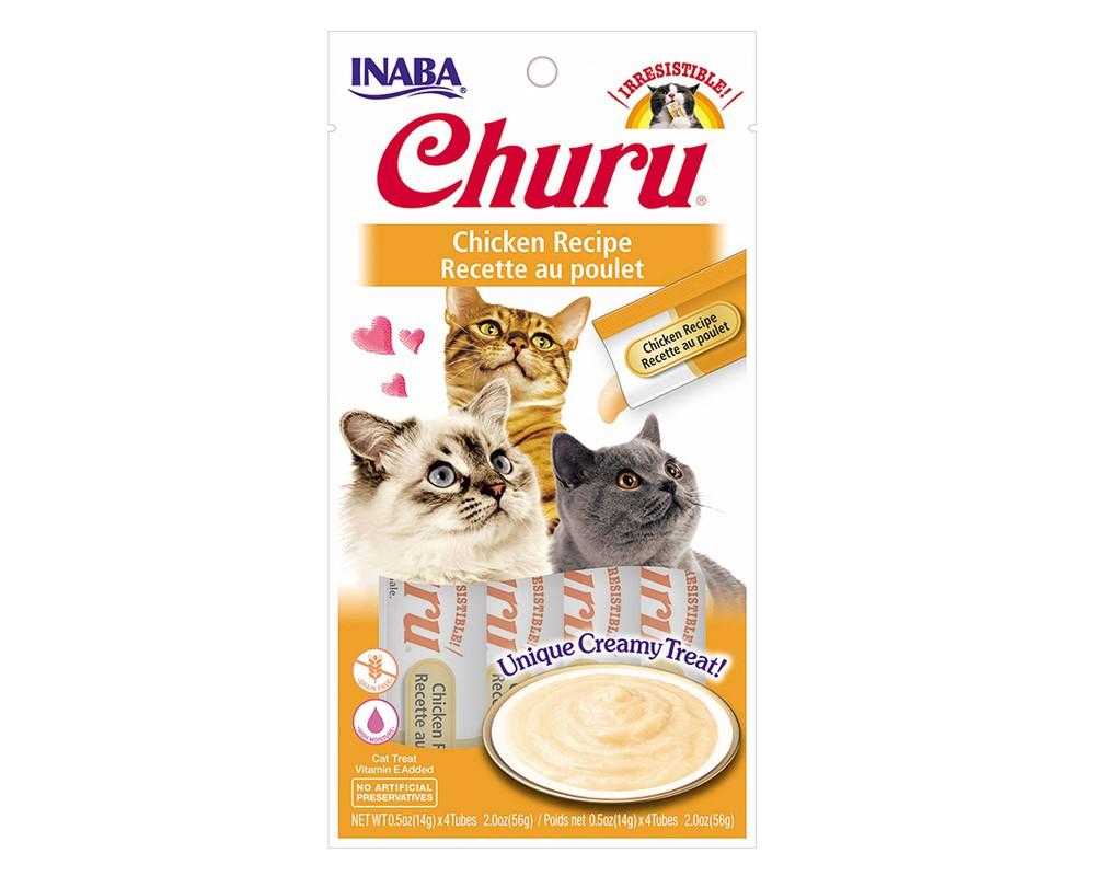 Snack Churu sabor Pollo 4 tubos