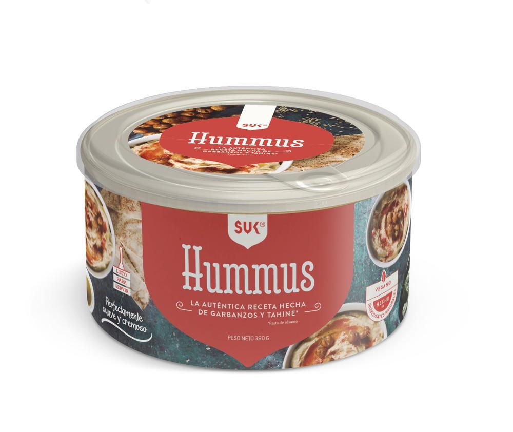 Hummus de garbanzo y tahine