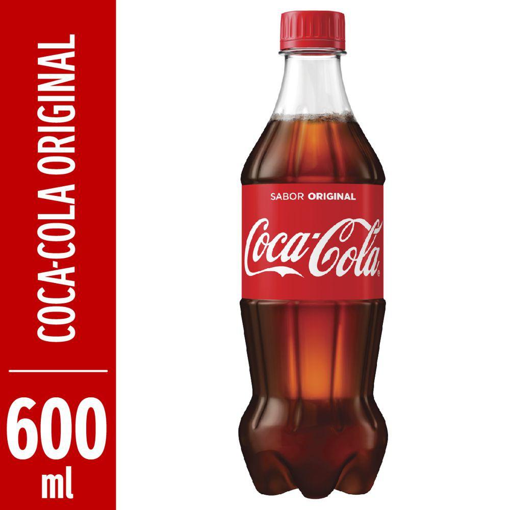 Refrigerante de cola 600ml