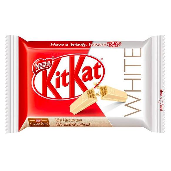 Chocolate branco Kit Kat