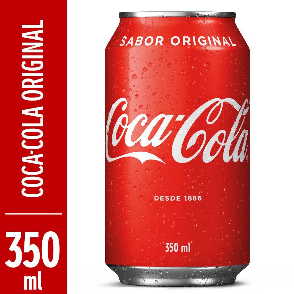 Refrigerante de cola 350ml