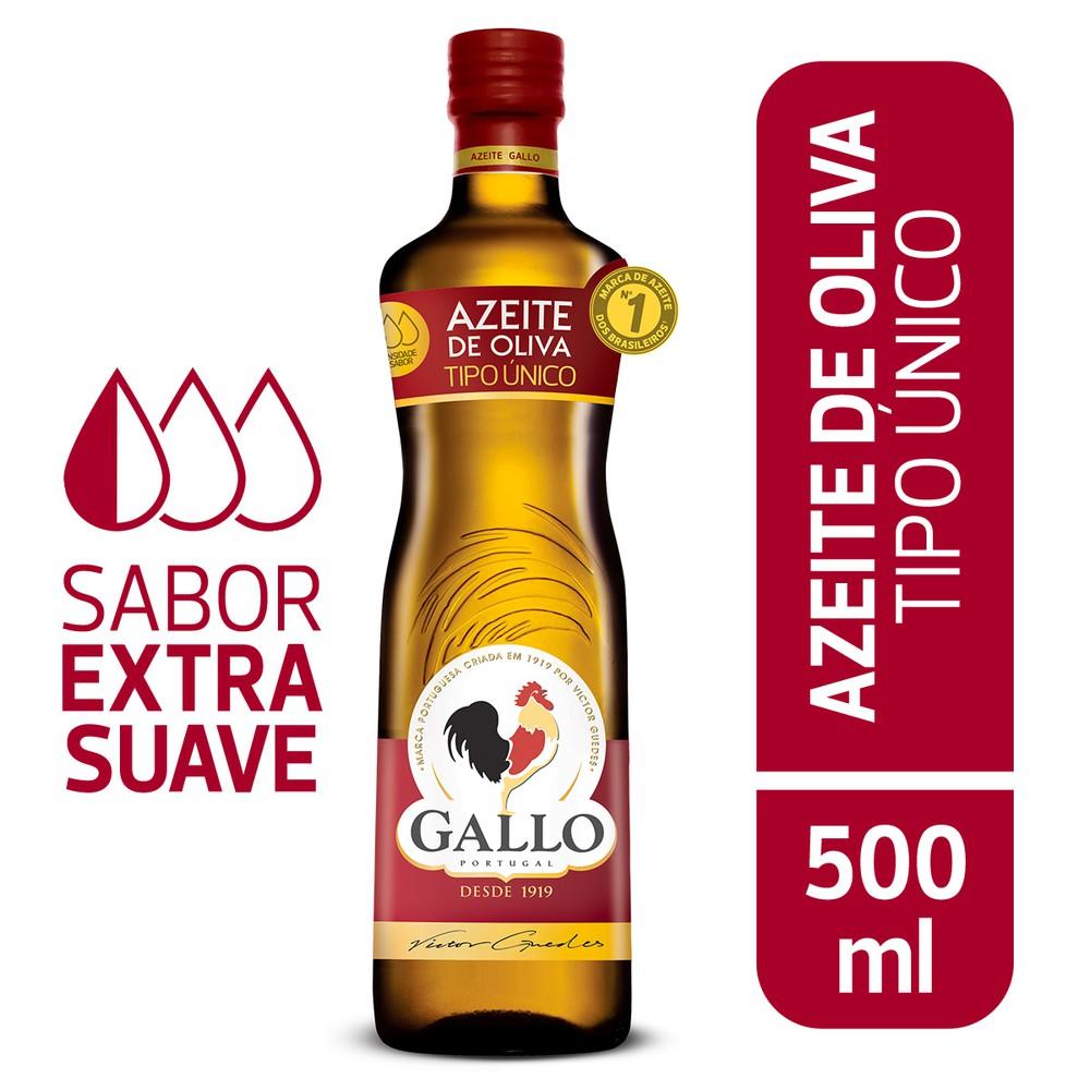 Azeite de oliva tipo único