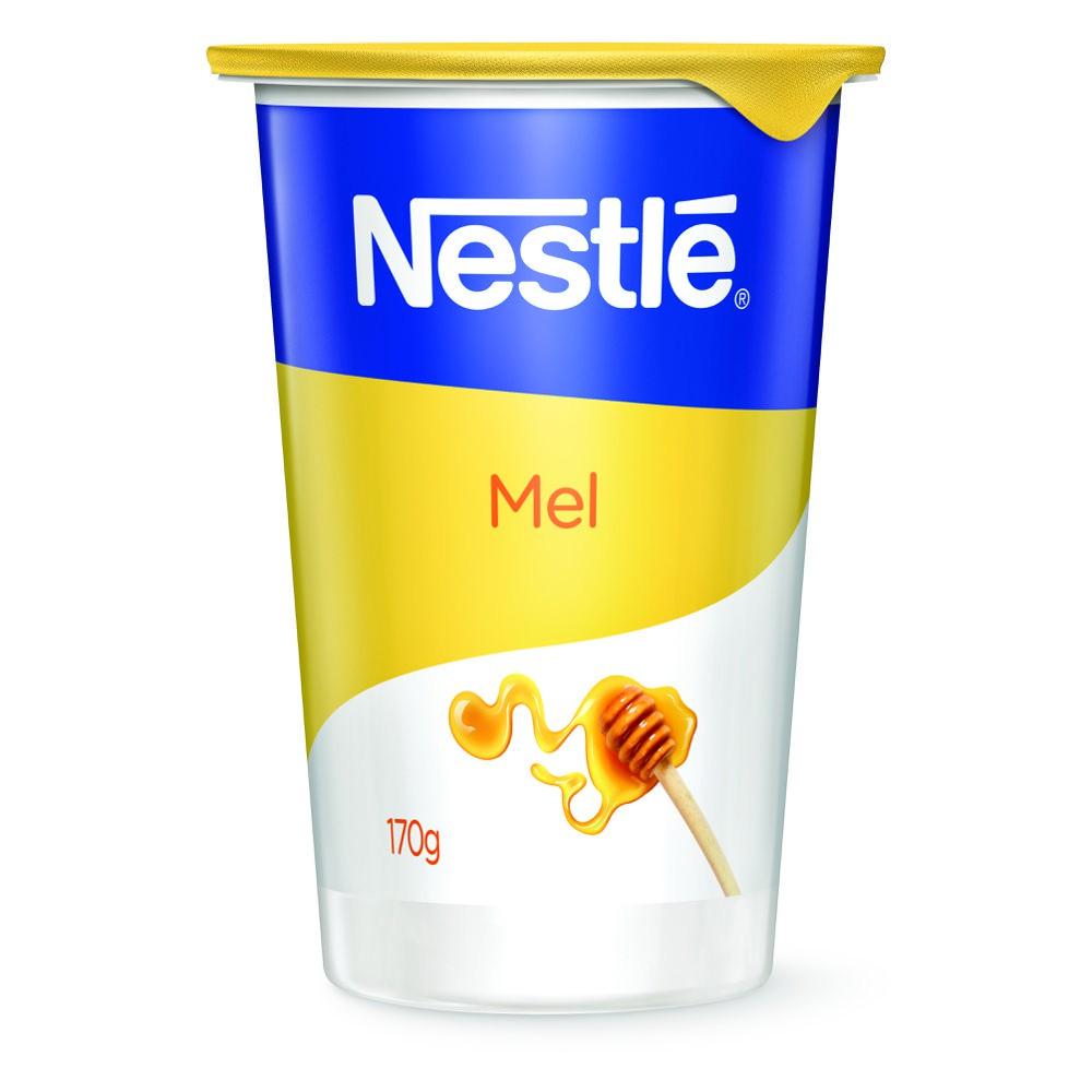 Iogurte natural com mel