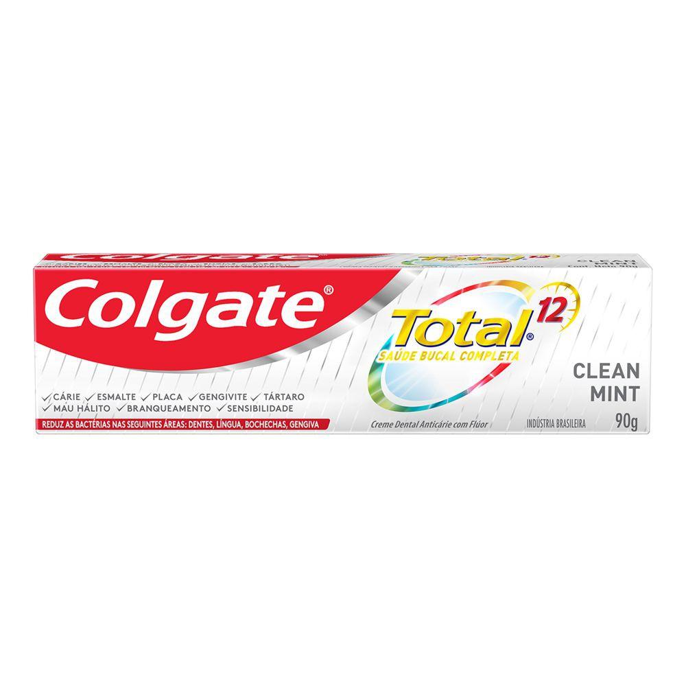 Creme dental total 12 clean mint