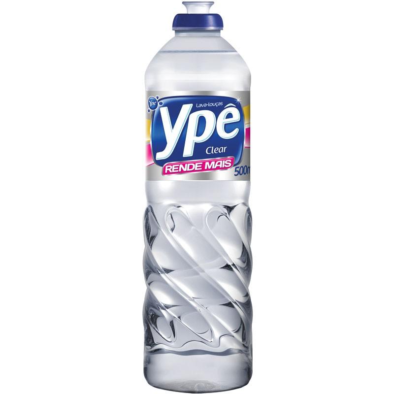 Detergente líquido lava louças clear
