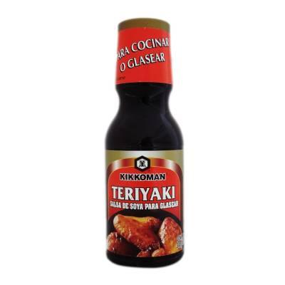 Salsa de soya teriyaki
