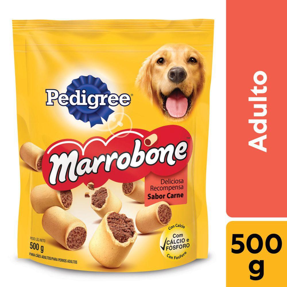 Biscoito carne para cães adultos 500g