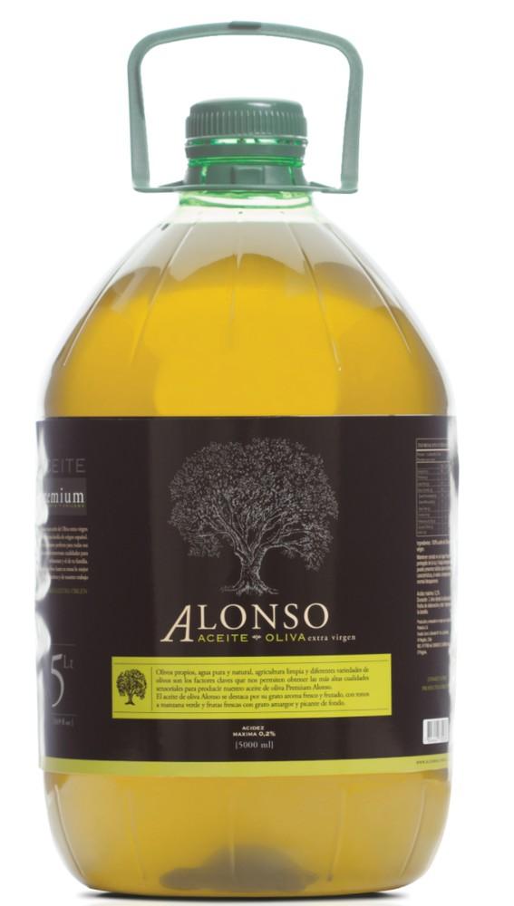 Aceite de oliva extra virgen blend 5 lts. Botella de 5 Lts.
