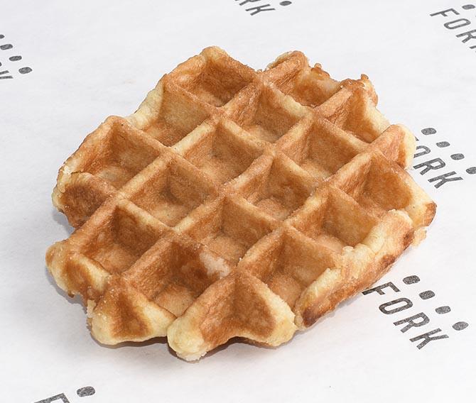 Waffle Belga Porción individual