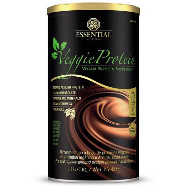 Proteína de amêndoa e ervilha sabor cacau