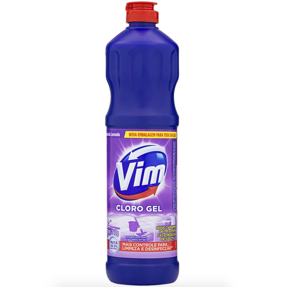 Limpador cloro aditivado lavanda
