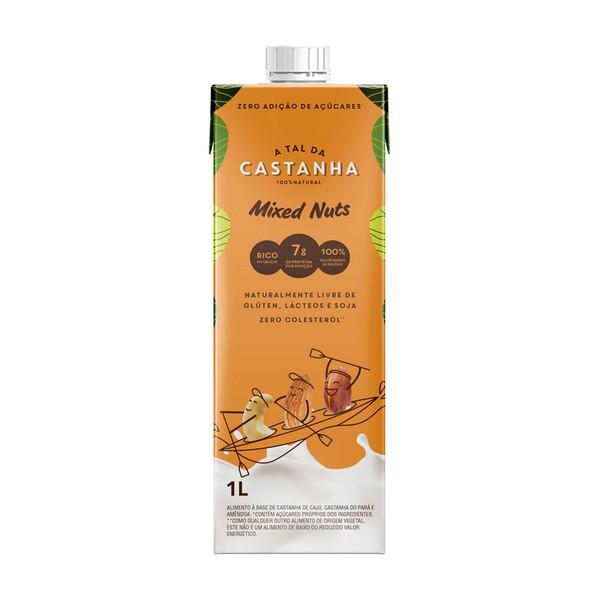Bebida de castanha mixed nuts