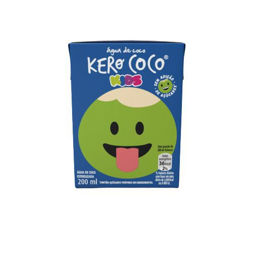 Água de coco kids zero açúcar