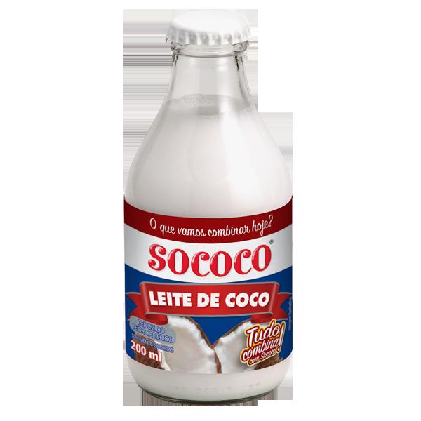 Leite de coco light