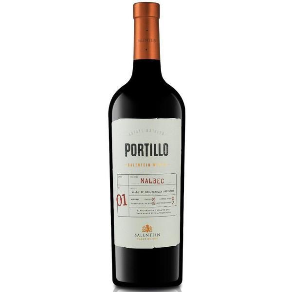 Vinho tinto argentino Portillo malbec 750ml