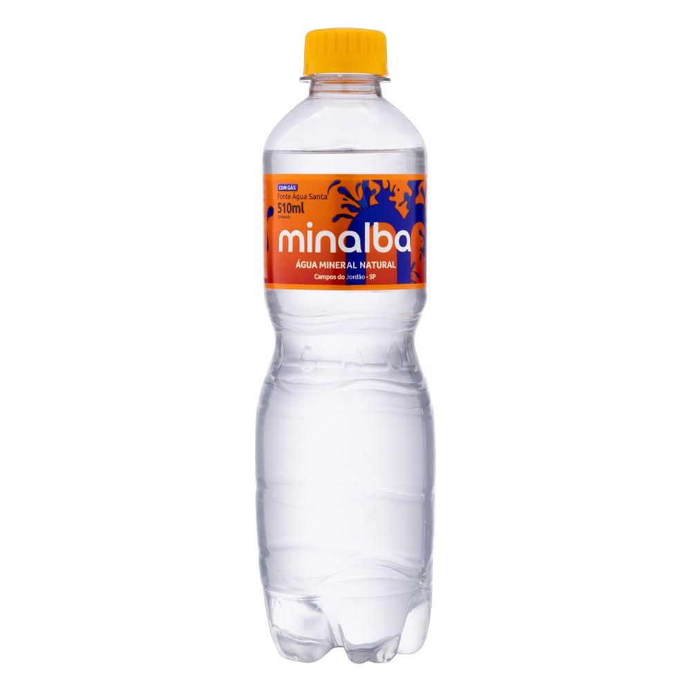 Água mineral com mais gás