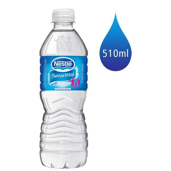 Água mineral sem gás Pureza Vital 510ml