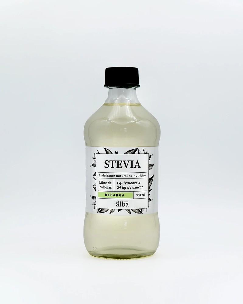 Stevia líquida recarga Frasco 500 ml