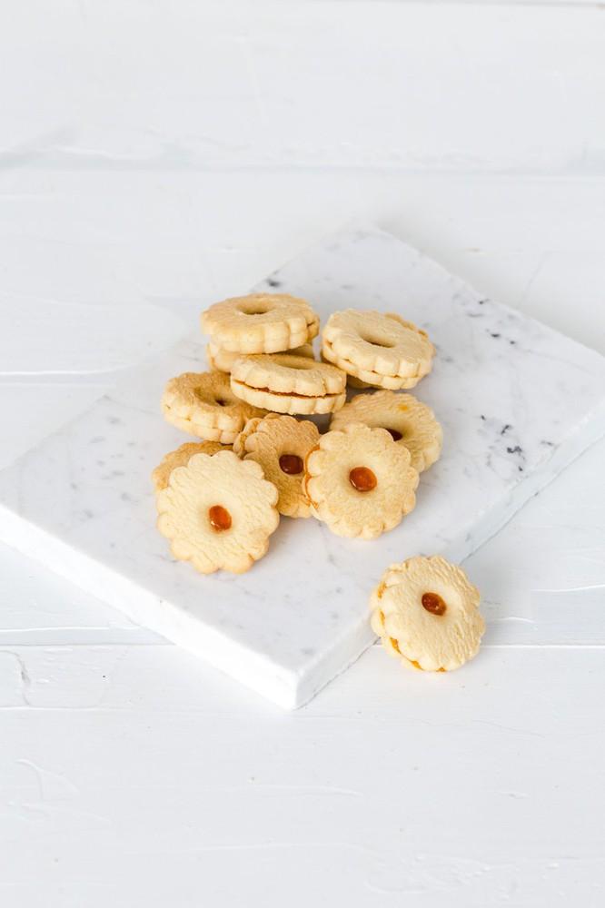 Galletas con mermelada de damascos 310 g