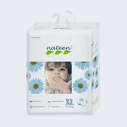 Pañal ecológico XL de 56 unidades