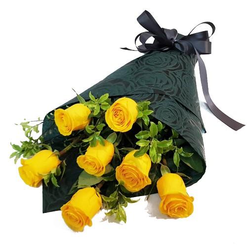 Ramo de Rosas Fortune  ( Flores Naturales ) 7 rosas.  ( Flores Naturales )