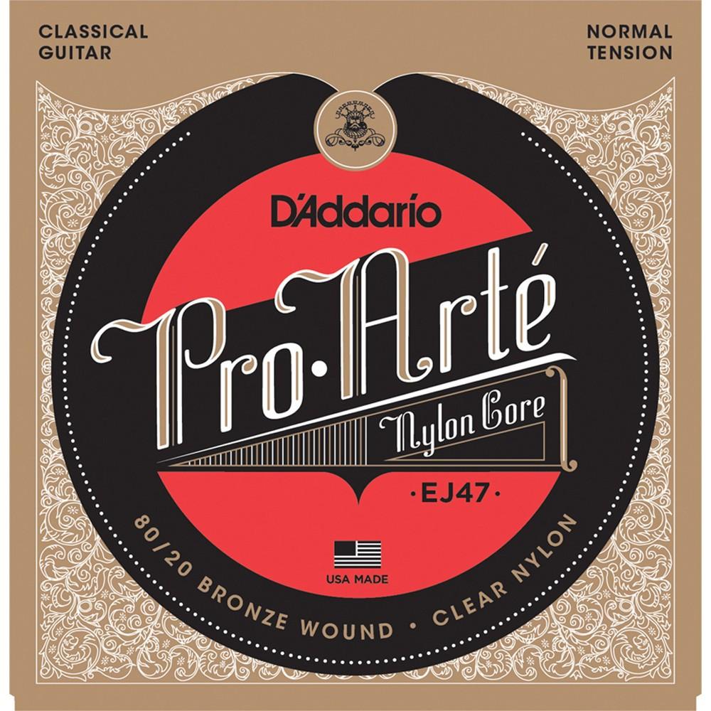 Cuerdas de nylon para guitarra clásica pro-arte 1 UNIDAD