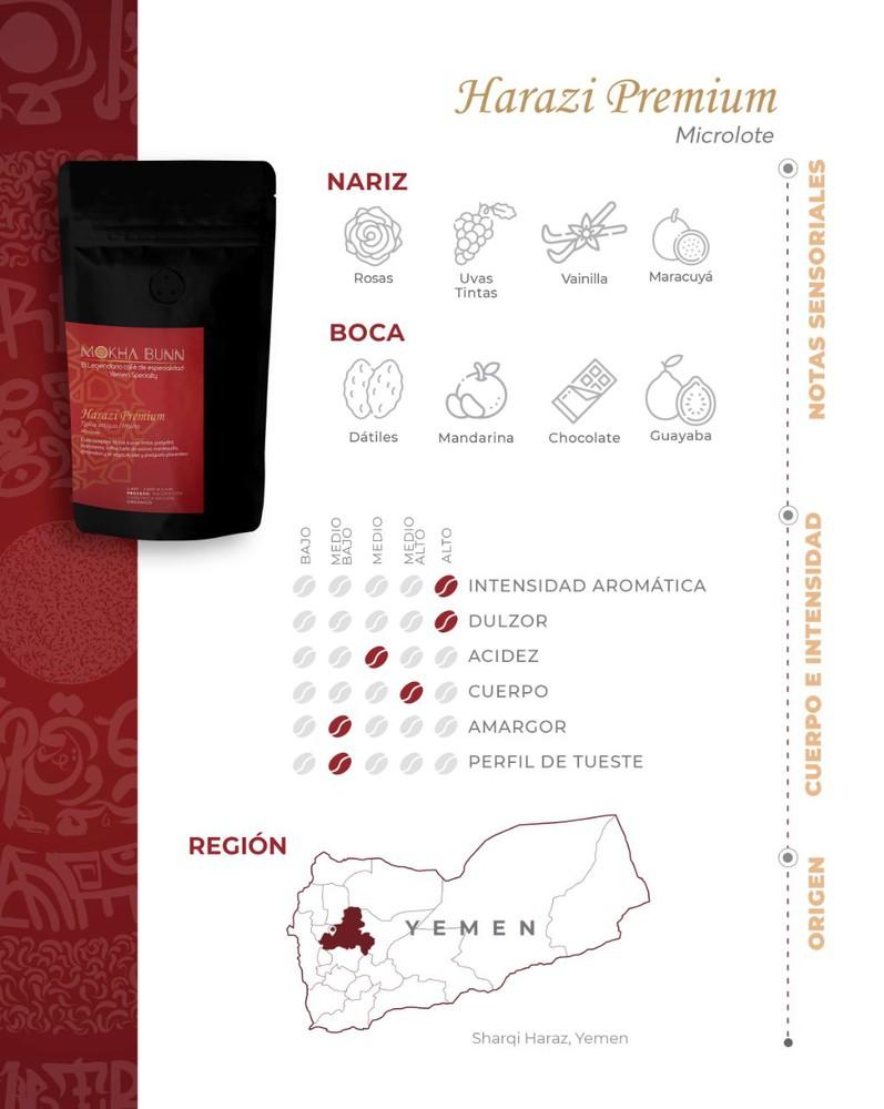 Harazi Premium   En Granos   Café De Especialidad 250 gr