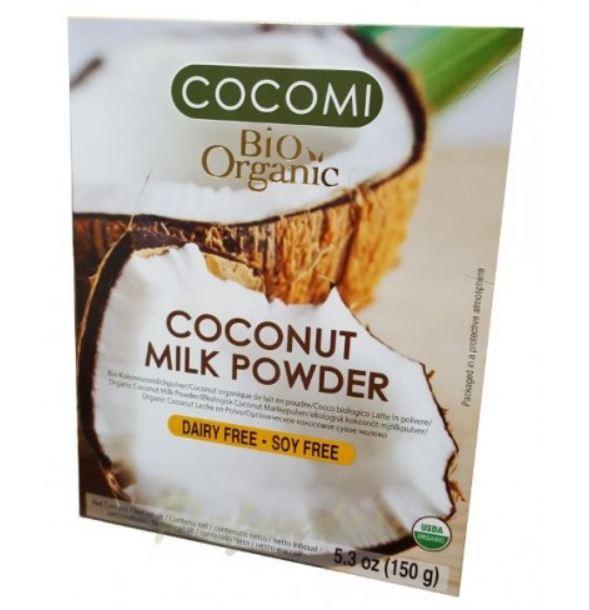 Leche en polvo orgánica coco