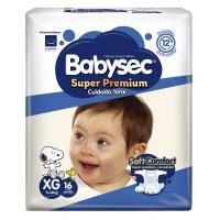 Pañal bebe súper premium XGx16