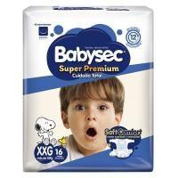 Pañal bebe súper premium XXGx16