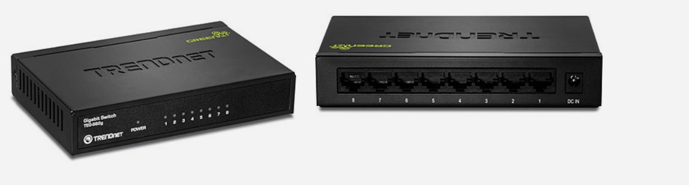 Switch teg-s82g 8 port 10/100/1000