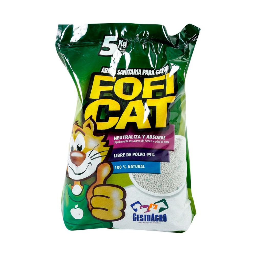 Arena sanitaria para gatos 5 kg