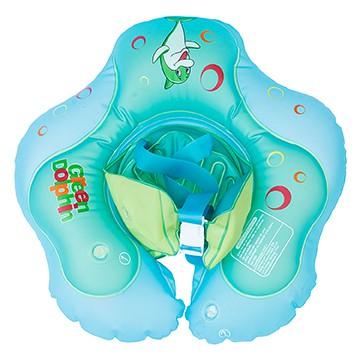 Baby green flotador infantil