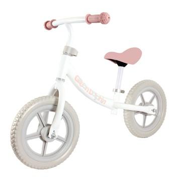 Bicicleta de balance rosada