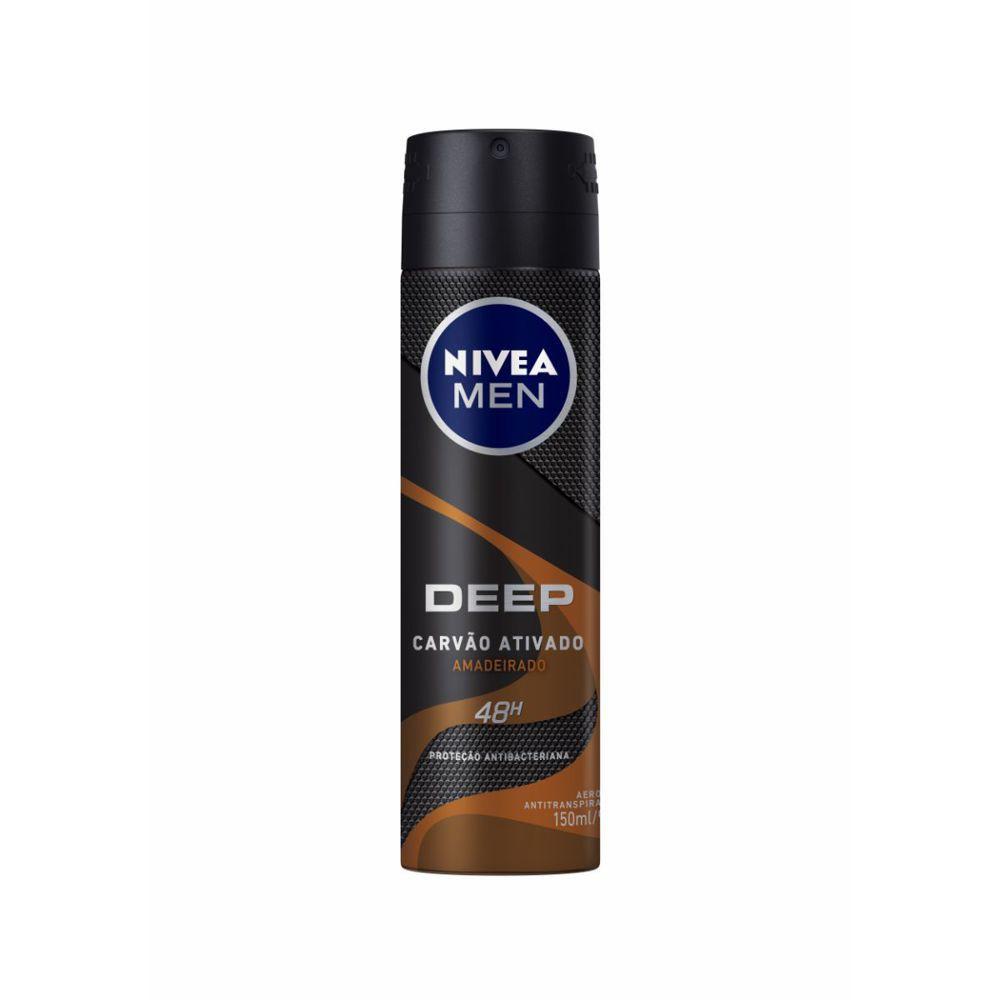 Desodorante aerosol men Deep amadeirado