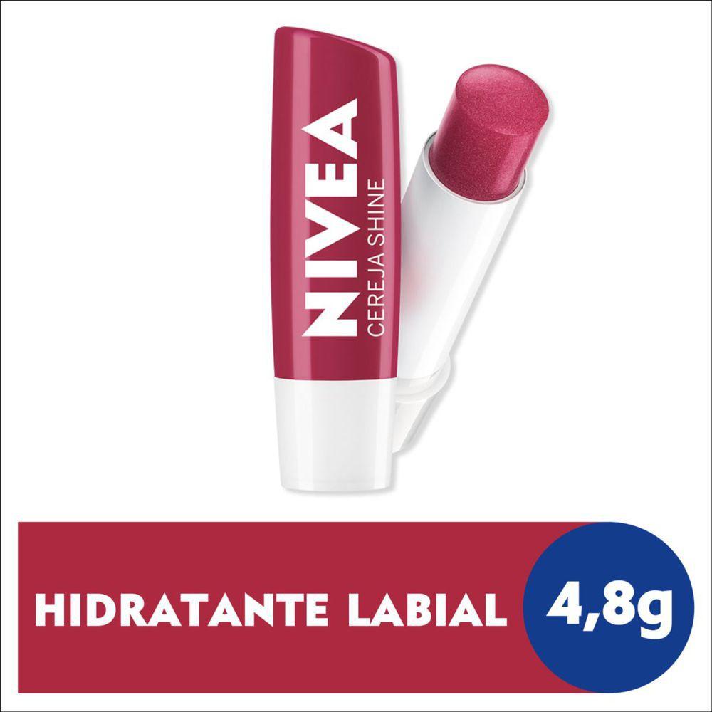 Hidratante labial cereja shine