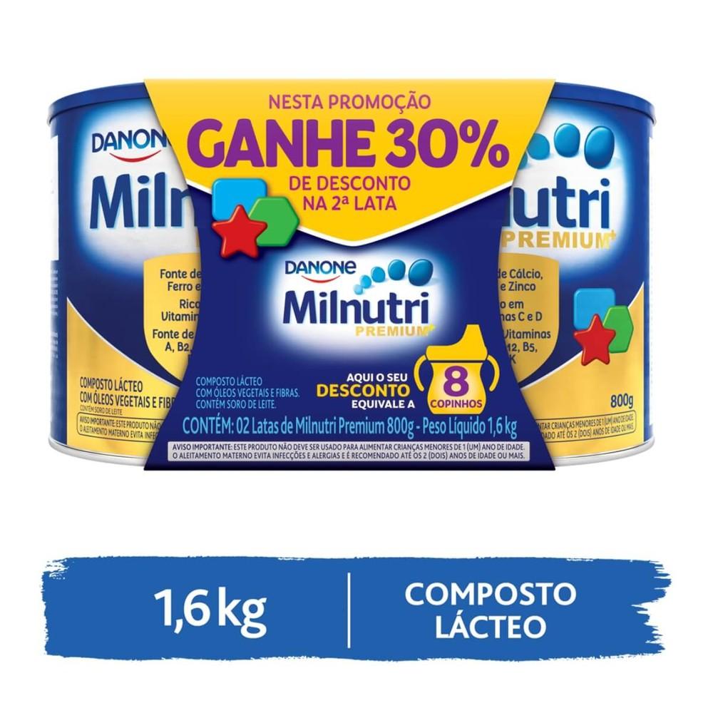 Kit composto lácteo premium